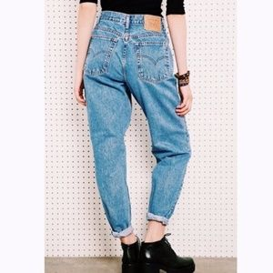 Vintage Levi's 550 High Waisted Mom Jeans